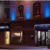 Hôtel Gambetta - Café Des Artistes
