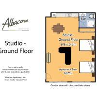Large Double Room - Ground Floor