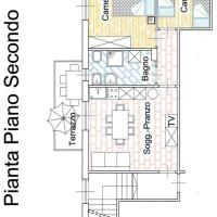 Two-Bedroom Apartment with Terrace - Second Floor