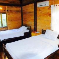 Two-Bedroom Wooden House