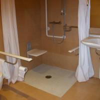 Double Room for Disabled Guests with Sea View