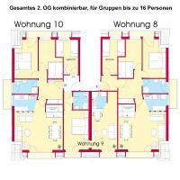 Appartement Haus Merian 8, 9, 10