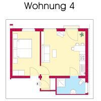 Appartement Haus Merian 4
