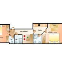 Two-Bedroom Apartment with 2 Bath & Balcony
