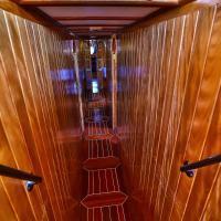 Four-Cabin Boat
