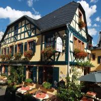Hotel Pictures: Historisches Weinhotel Zum Grünen Kranz, Rüdesheim am Rhein