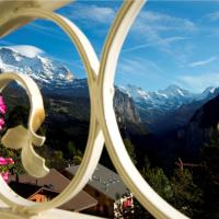 Junior Suite with Jungfrau View & Balcony