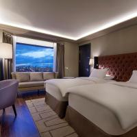 Twin Executive Deluxe Room with Lounge Access