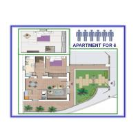 Two-Bedroom Apartment (6 Adults) - Split Level
