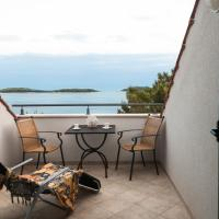 Penthouse  One-Bedroom Apartment with Terrace and Sea View