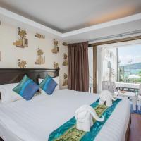 Deluxe Quadruple Room with Sea View