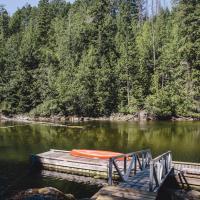 Secret Cove Waterfront Log Cabin