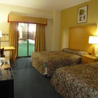 Double room with two Double Beds Pool Access