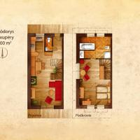 Duplex One-Bedroom Apartment - Exupery