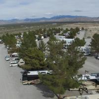 RV Parking Spot with Full Hookup