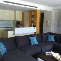 Two-Bedroom Apartment with Pool View