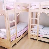 Bed in 6-Bed Female Dormitory Room (A)