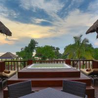 Two-Bedroom Beachfront Villa with Jacuzzi