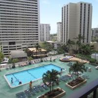 Waikiki Banyan Apt, walk to the beach, Free Wi-Fi & parking