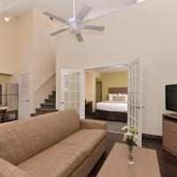 Two-Story King Suite with Two-Double Bedroom - Non-Smoking