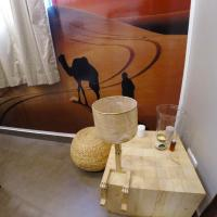 Double Bed in 2-Bed Mixed Dormitory Room (Desert Room)