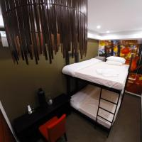 Double Bed in 2-Bed Mixed Dormitory Room (Autumn Room)