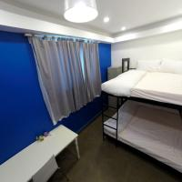 Double Bed in 2-Bed Mixed Dormitory Room (Peacock Room)