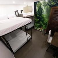 Single Bed in 4-Bed Mixed Dormitory Room  (Jungle Room)