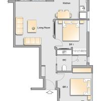 Two-Bedroom Apartment - Shimshon Hagibor 5