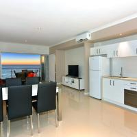 Three-Bedroom Apartment with Balcony or Courtyard