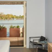 Double or Twin Room with Balcony and Lagoon View