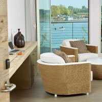 Junior Suite with Balcony and Lagoon View