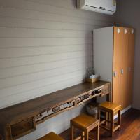 Single Bed in Female Dormitory Room with Shared Bathroom