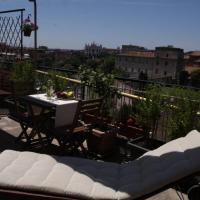 Deluxe Double Room with Terrace and City View