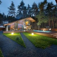 Two-Bedroom Chalet with Jacuzzi