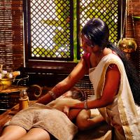 Ayurvedic Package at Superior Double Room in Shared Villa