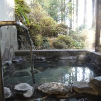 Room Selected at Check-In with Open-Air Bath