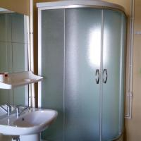 Family Room with Shower and Shared Toilet