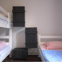 Bed in Triple Room with Private External Bathroom