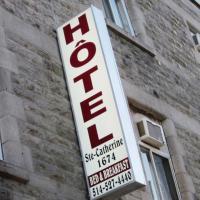 ホテル写真: ホテル ステ カトリーヌ, モントリオール