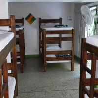Bed in 8-Bed Mixed Dormitory Room with Bathroom