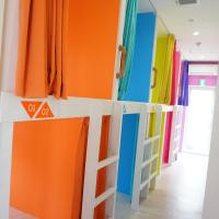 Bunk Bed in 10-Bed Dormitory Room with Shower