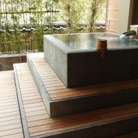 Japanese-Style Room with Open-Air Bath