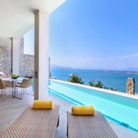 Palace Villa with Sea View and Private Pool