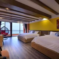 Deluxe Quadruple Room with Balcony and Sea View