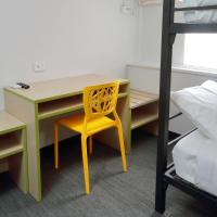 Economy Twin Bunk Room with Shared Bathroom