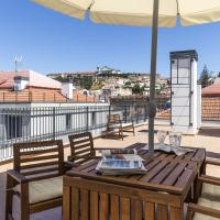 Penthouse Two-Bedroom Apartment with Terrace and Castle View