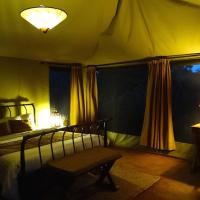 Tent with Double Bed