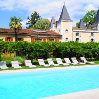 Hotel Pictures: Hotel Logis - Chateau de Beauregard, Saint-Girons