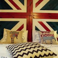 Double Room with England Style Decoration (106/206/306/406)